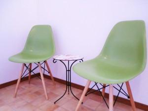 店内:椅子