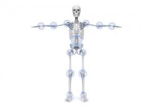 全身 立位 正面 関節痛